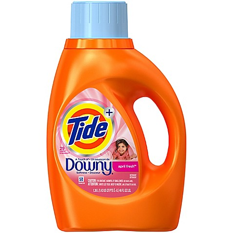 Tide 174 April Fresh 174 46 Oz 2x Liquid Laundry Detergent With