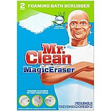 Image Of Mr. Clean® Magic Eraser 2 Count Bath Scrubber