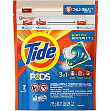 image of Tide® PODS 31-Count Laundry Detergent in Original