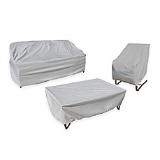 Image Of SimplyShade Polyester Protective Patio Furniture Covers Collection