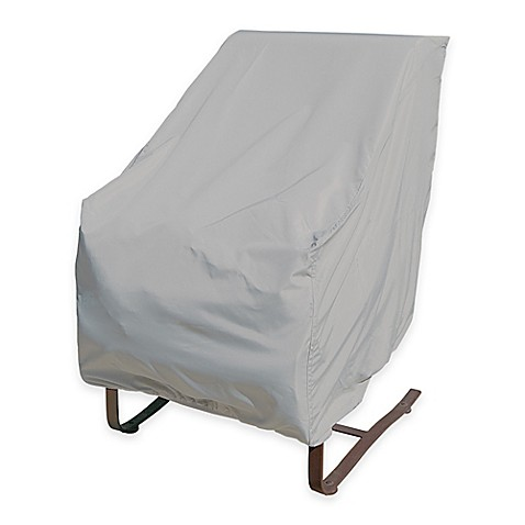 Buy SimplyShade Polyester Protective High Back Chair Cover From Bed Bath Amp