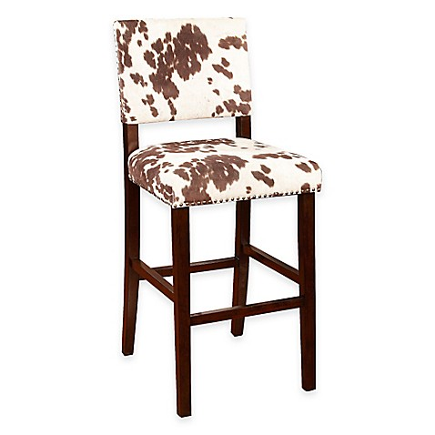 Corey Udder Madness Stools In Brown White Bed Bath Amp Beyond