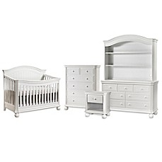 Image Of Sorelle Finley Nursery Furniture Collection In White