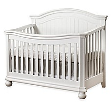 image of Sorelle Finley 4-in-1 Convertible Crib in White