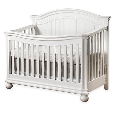 Sorelle Finley 4 In 1 Convertible Crib In White Bed Bath