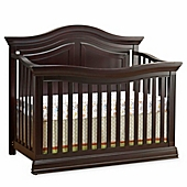 sorelle providence 4in1 convertible crib in dark espresso