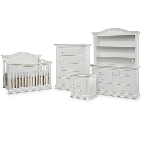 Sorelle Providence Nursery Furniture Collection In White Buybuy Baby