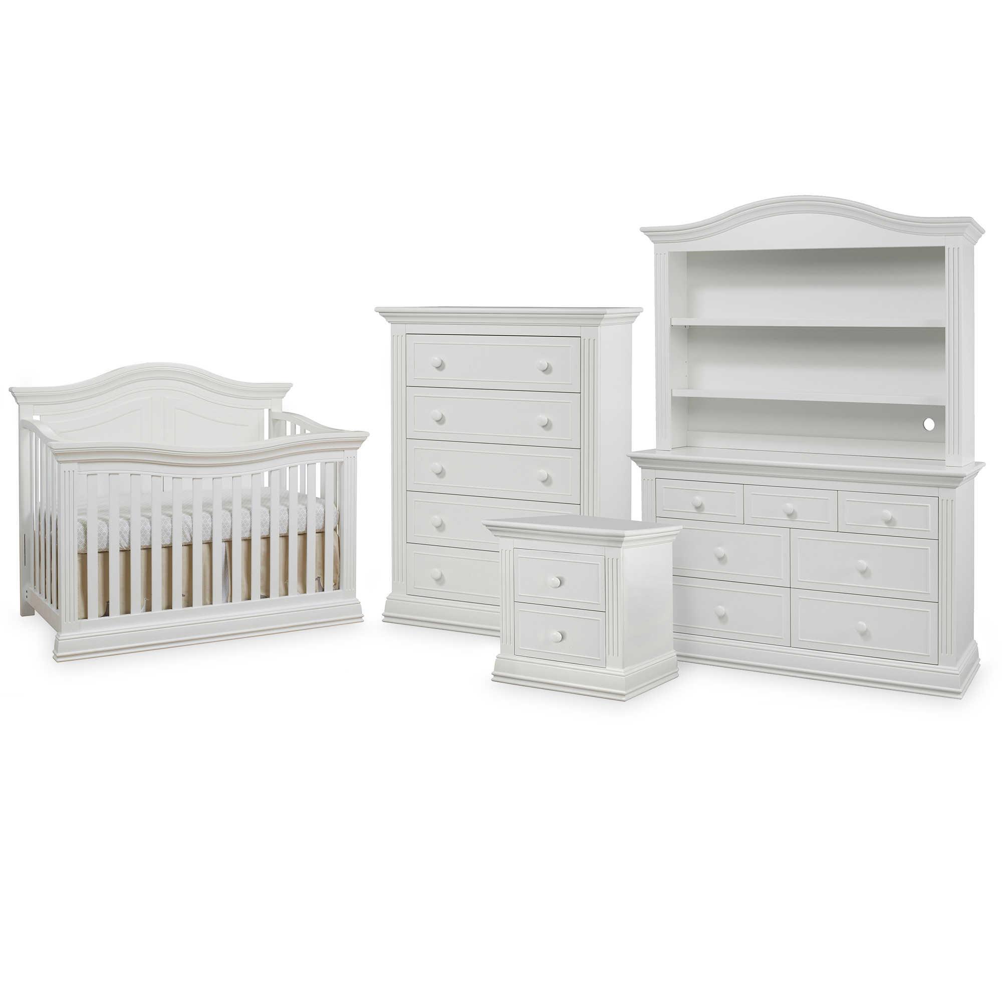 Davinci furniture perancis furniture standing clock mirror contact us - Sorelle Providence Nursery Furniture Collection In White