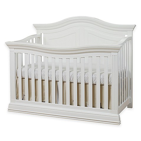 Sorelle Providence 4-in-1 Convertible Crib in White - Sorelle Providence 4-in-1 Convertible Crib In White - Buybuy BABY