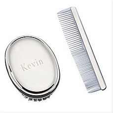 image of Classic 2-Piece Boys Brush and Comb Set