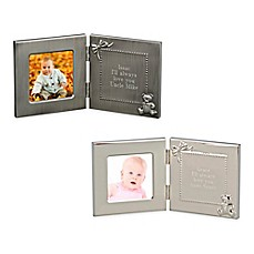 image of 3-Inch x 3-Inch Picture Frame with Engraving Plate