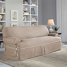 image of Perfect Fit® Classic Twill Slipcover Collection