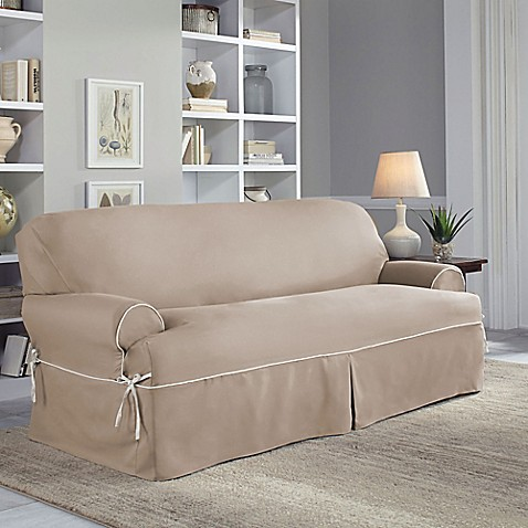 Perfect Fit Reg Clic Twill Slipcover Collection