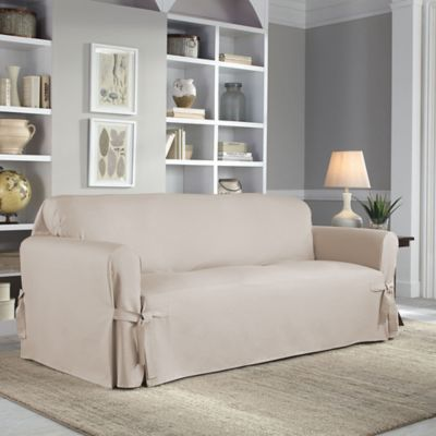 Great Image Of Perfect Fit® Classic Relaxed Fit Sofa Slipcover