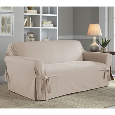 Loveseat Slipcovers Furniture Covers Throws Bed Bath Beyond