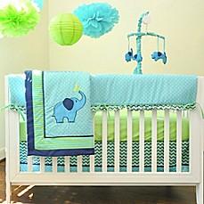 Pam Grace Creations Zig Zag Elephant Crib Bedding Collection