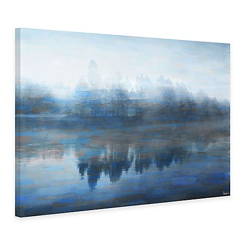 buy parvez taj lake marmont 60 inch x 40 inch canvas wall art from bed bath beyond. Black Bedroom Furniture Sets. Home Design Ideas