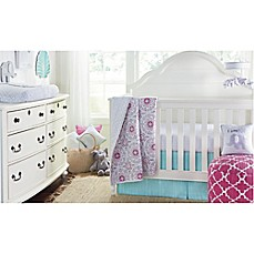 image of Wendy Bellissimo™ Mix & Match Crib Bedding Collection in Grey/Pink