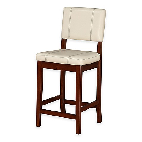 Buy Milano 24 Quot Counter Stool In Cream From Bed Bath Amp Beyond