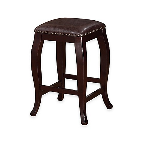 Buy San Francisco Square Top 24 Inch Counter Stool In