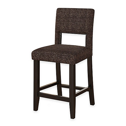 Buy Vega 24 Inch Counter Stool In Myrtle Jet From Bed Bath