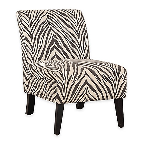 Lily Patterned Linen Chair Bed Bath Amp Beyond