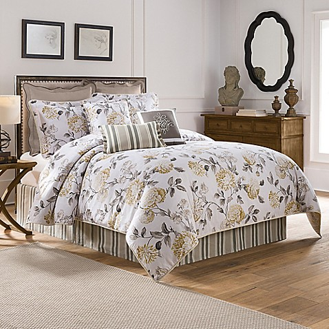 Colonial Williamsburg Eve Reversible Comforter Set Bed