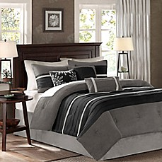 image of Madison Park Palmer 7-Piece Comforter Set