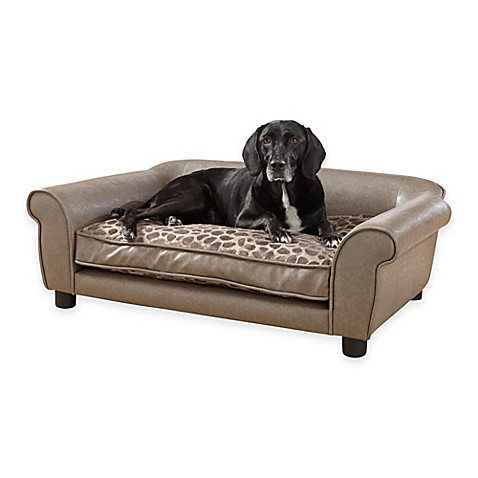 Enchanted Home Pet Rockwell Sofa Bed In Pewter Bed Bath Beyond