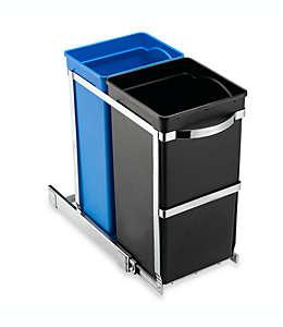 Bote de basura deslizable simplehuman® de 35 L