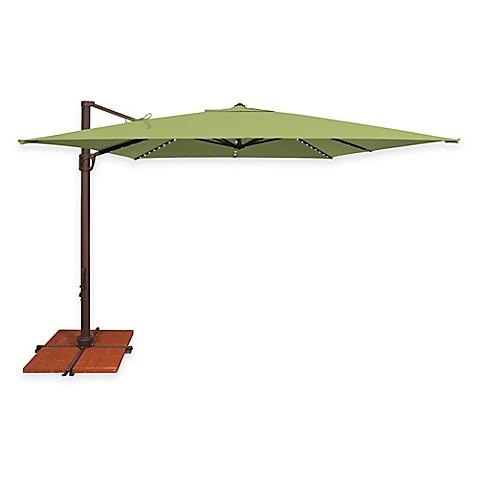 Simplyshade Bali Pro 10 Foot Square Cantilever Umbrella In