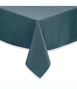 Mantel de poliéster Noritake® 2.13 x 1.52 m color turquesa