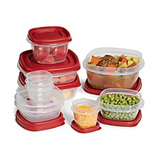 image of Rubbermaid® Easy Find Lid™ 20-Piece Food Storage Set with Easy Find Lids