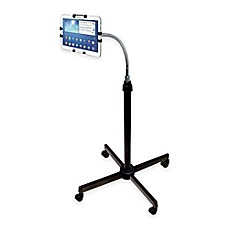 image of CTA Digital Height-Adjustable Gooseneck Floor Stand For iPad® and Tablets