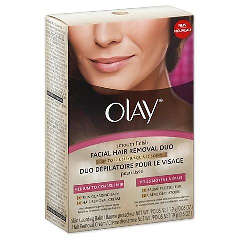 Remove coarse facial hair