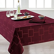 image of Origins™ Tribeca Microfiber Tablecloth