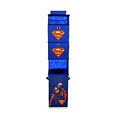 image of Modern Littles Superman Hanging Closet Organizer