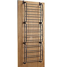 Charmant 36 Pair Over The Door Shoe Rack In Bronze