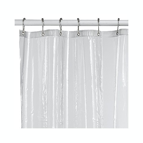 Soft Sensations™ Pure Clear EVA Shower Curtain Liner