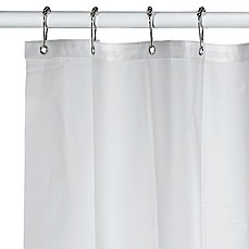 image of Soft Sensations™ Pure Frost EVA Shower Curtain Liner