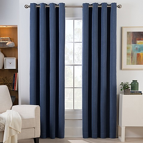 Herald Square Grommet Top Room Darkening Window Curtain