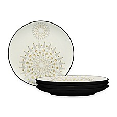image of Noritake® Colorwave Holiday Accent Plates in Graphite (Set of 4)