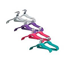 image of Joy Mangano The Original Huggable Hangers 40-Pack Suit and Shirt Hangers