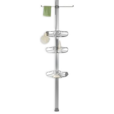 simplehuman Stainless Steel Tension Shower Caddy Bed Bath Beyond