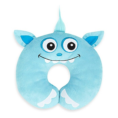 Nuby™ Monster Head Support in Blue
