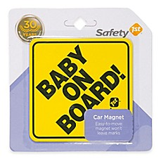 image of Safety 1st® Baby on Board Car Magnet