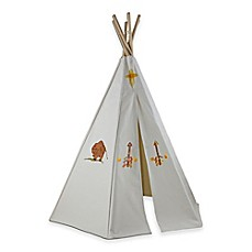 image of Dexton 6-Foot Great Plains Play Teepee with Washable Markers