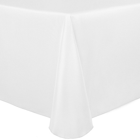 Buy Duchess 60 Inch X 120 Inch Tablecloth In White From