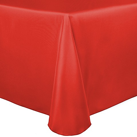 Buy duchess 60 inch x 120 inch tablecloth in orange from for Tablecloth 52 x 120