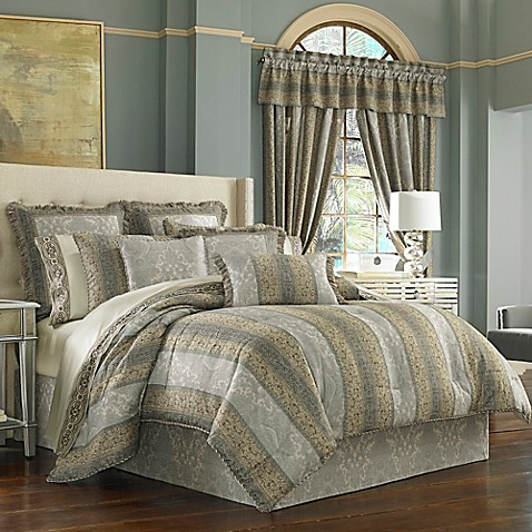 j queen new hemmingway comforter set - J Queen New York Bedding